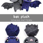 Sewing Plushies Tutorials Free Pattern Friday Bat Plush Choly Knight