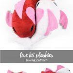 Sewing Plushies Tutorials Free Pattern Friday Love Koi Plushies Choly Knight