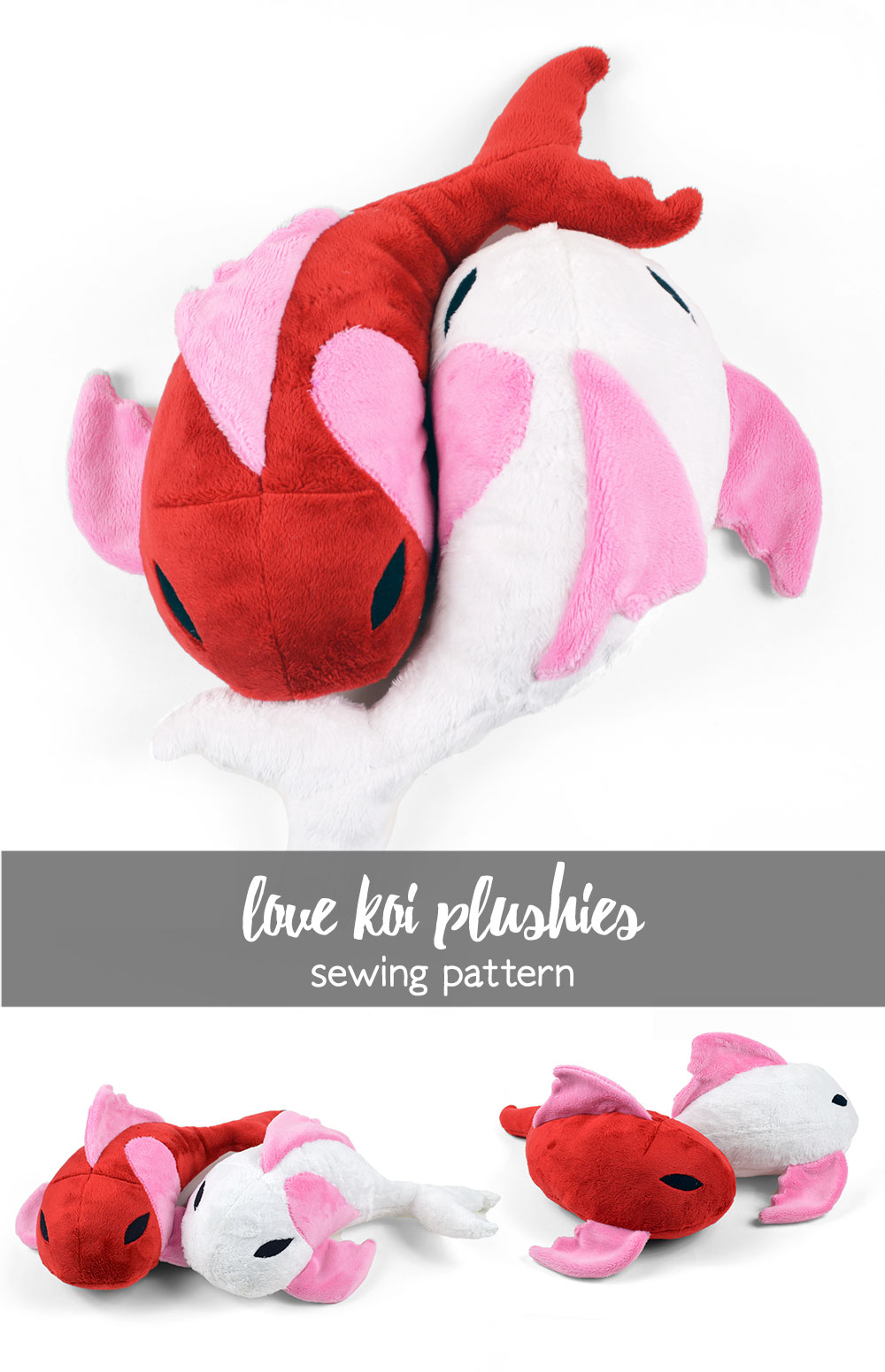 Sewing Plushies Tutorials Free Pattern Friday Love Koi Plushies Choly Knight