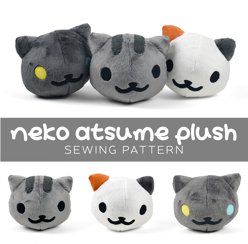 Sewing Plushies Tutorials Free Pattern Friday Neko Atsume Plush Choly Knight