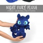 Sewing Plushies Tutorials Free Sewing Tutorial Make Your Own Cuddly Version Of A Night Fury