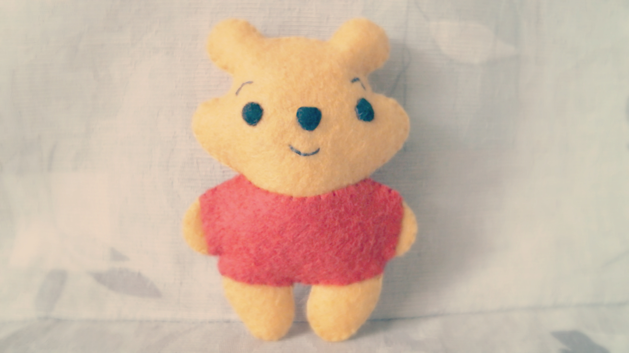 Sewing Plushies Tutorials How To Make A Winnie The Pooh Plushie Tutorial Hapy Friends Shoppe
