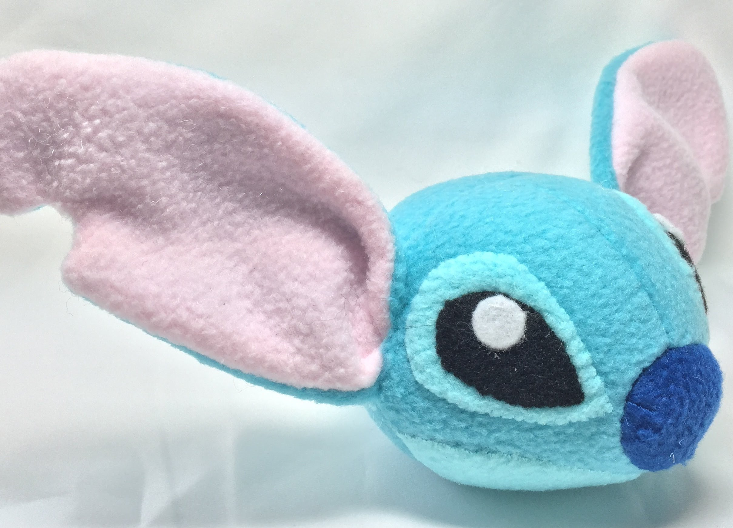 Sewing Plushies Tutorials Lilo Stitch Stitch Head Plushie Tutorial Youtube