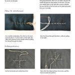 Sewing Printables Cheat Sheets Hand Stitching Sashiko Cheat Sheet Imagine Gnats
