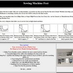 Sewing Printables Cheat Sheets Sewing Machine Presser Feet What Are They And How To Use Them