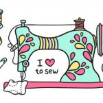 Sewing Printables Free Vintage Collection Of Free Dewing Clipart Couture Download On Ubisafe