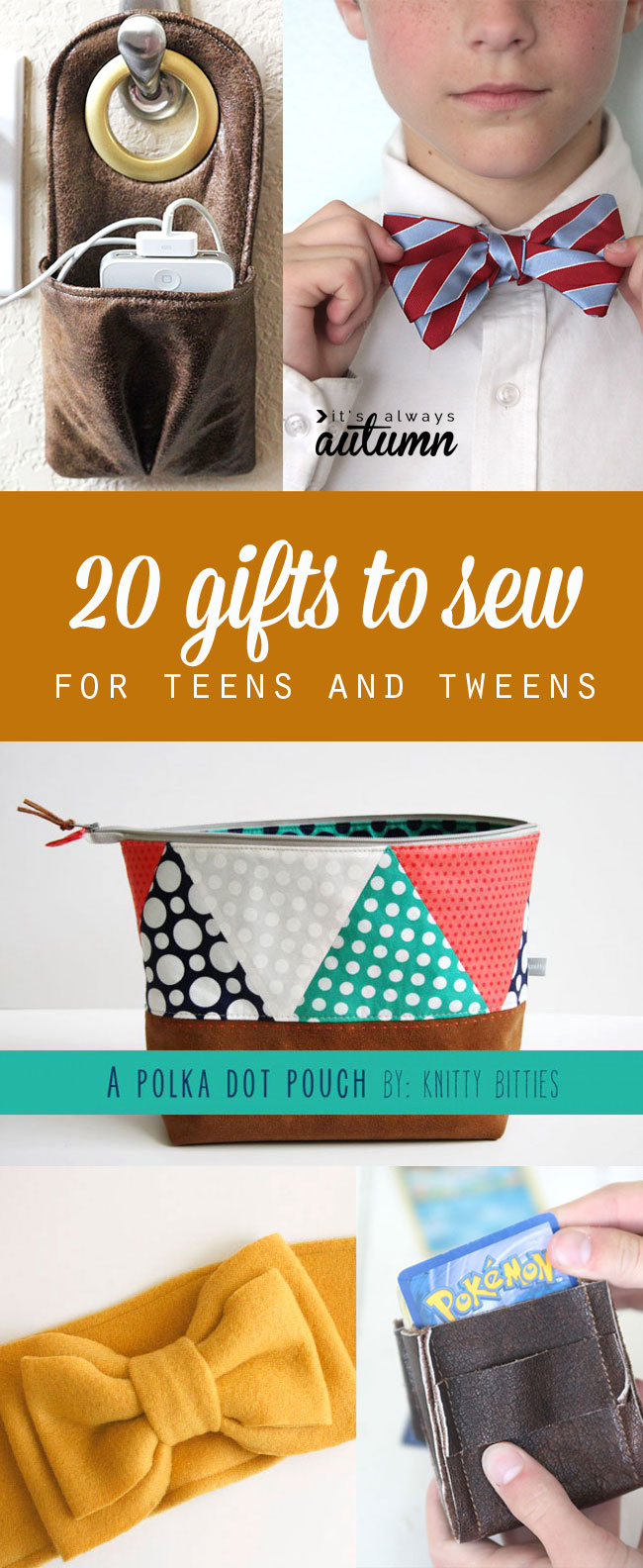 Sewing Project Ideas 20 Gifts To Sew For Teens That Theyll Actually Like A Giveaway