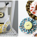 Sewing Scrap Projects Simple 10 Scrap Fabric Easy Sewing Projects Diy Thought