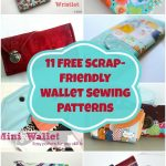 Sewing Scrap Projects Simple 11 Free Wallet Sewing Patterns All Scrap Friendly Easy To Sew With