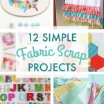 Sewing Scrap Projects Simple 31 Days Of Sewing To Stitch Pinterest Scrap Fabric Projects
