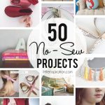 Sewing Scrap Projects Simple 50 No Sew Projects Little Inspiration
