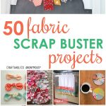 Sewing Scrap Projects Simple Craftaholics Anonymous Fabric Scrap Projects