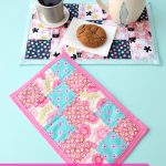 Sewing Scrap Projects Simple How To Sew A Fabric Scrap Mug Rug Tutorial Hello Creative Family