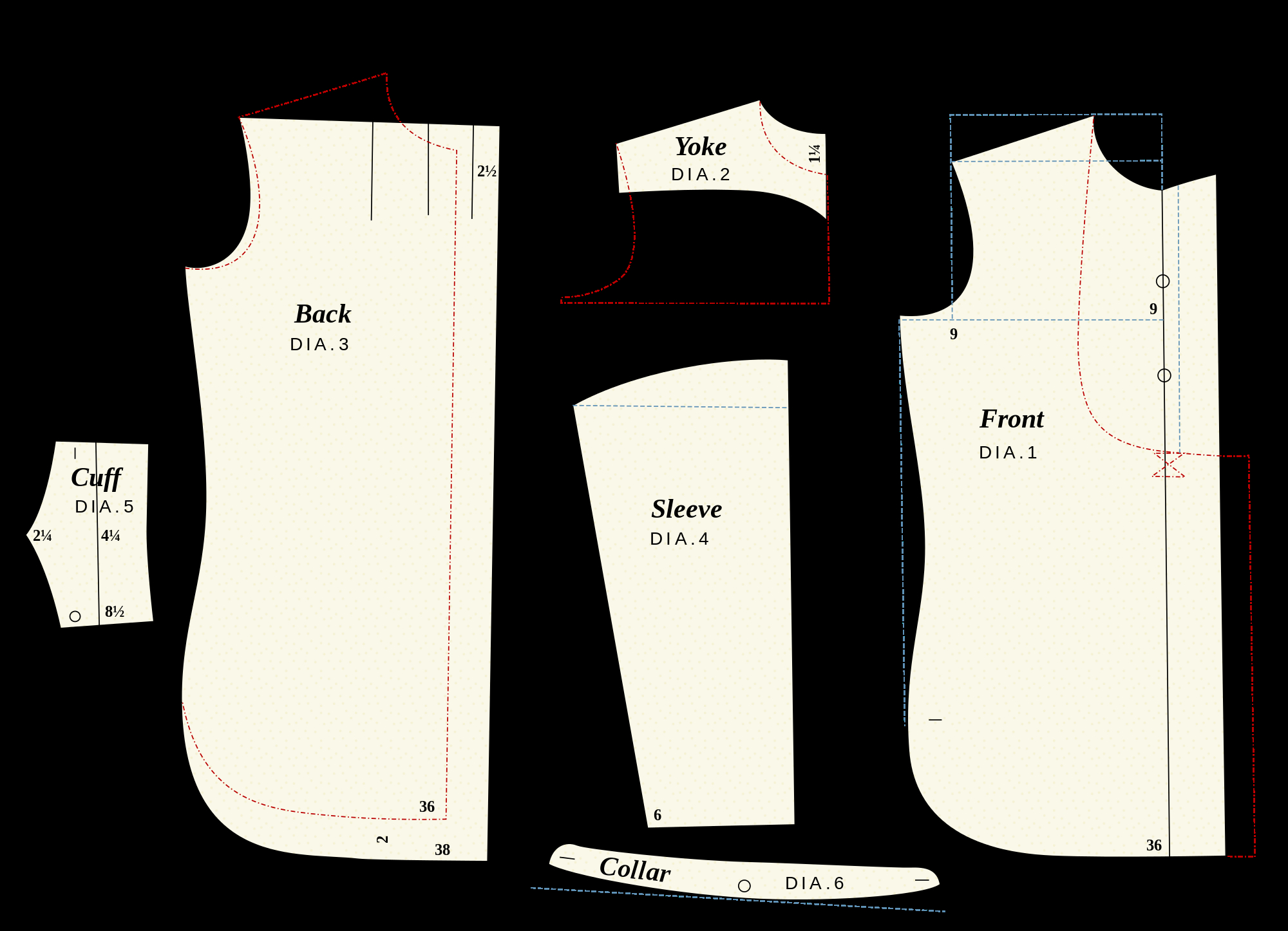 Sewing Tshirt Pattern Filethe Shirt System Sewing Patternsvg Wikimedia Commons