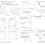 Sewing Tshirt Pattern Free Sewing Pattern One Sheet Roll Sleeve Crop Or Top Beropa