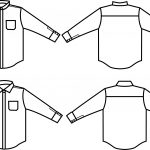 Sewing Tshirt Pattern Islander Sewing Systems 209 Mens Designer Dress Shirt