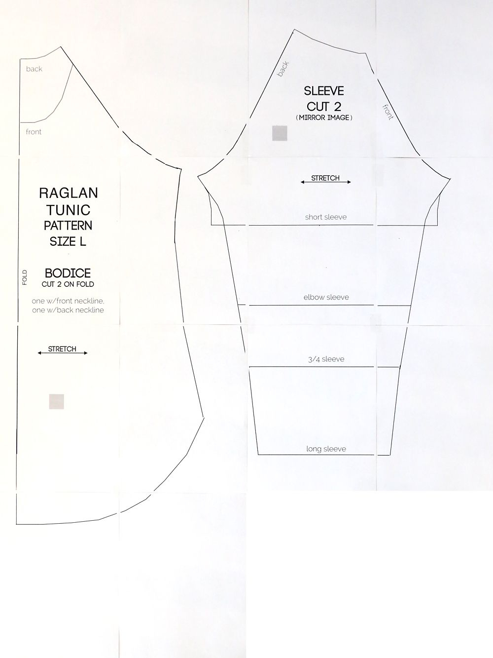 Sewing Tshirt Pattern Long Raglan T Shirt Sewing Pattern Sewing Pinterest Sewing