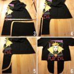 Sewing Tshirts Refashion Diy Tutorial Tshirt Clothes Refashion No Sew Tiefront Tank