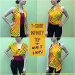Sewing Tshirts Refashion No Sew Generation T