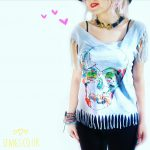 Sewing Tshirts Refashion Set Free My Gypsy Soul A Crochet Craft Blog No Sew Boho T Shirt