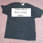 Sewing Tshirts Refashion Sew Whats Happening Refashioned T Shirt Worn Out Shirt With Hole