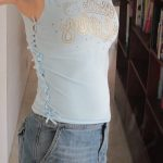 Sewing Tshirts Refashion Stellar Mother Frilly No Sew T Shirt Refashion