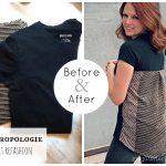 Sewing Tshirts Refashion To Small Tshirt Refashion Anthropologie Shirt Refashion Lots Of