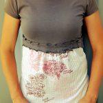 Sewing Tshirts Refashion Two T Shirt Mash Up Refashion Tutorial