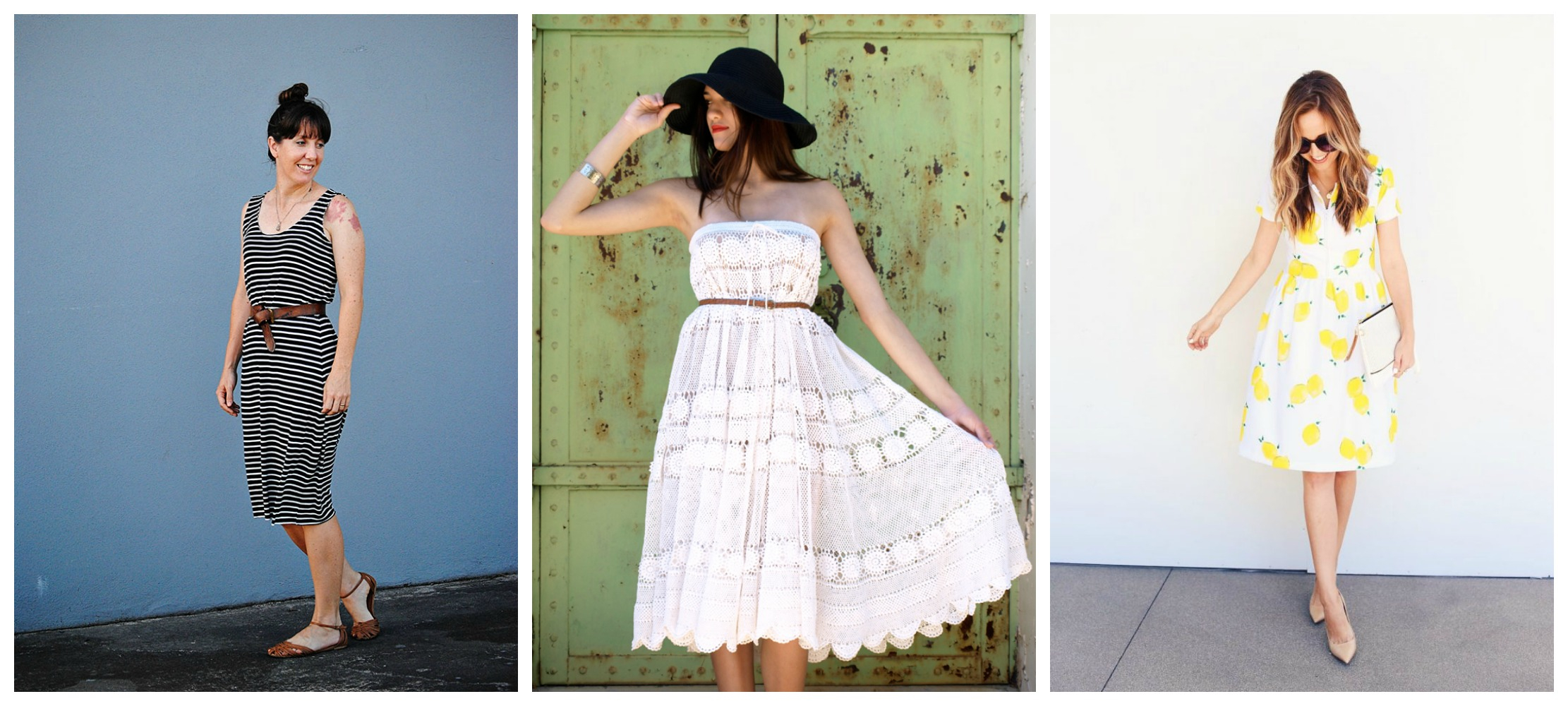 Sewing Upcycled Clothing Easy Diy 10 Simple To Sew Summer Dresses Diy Thought