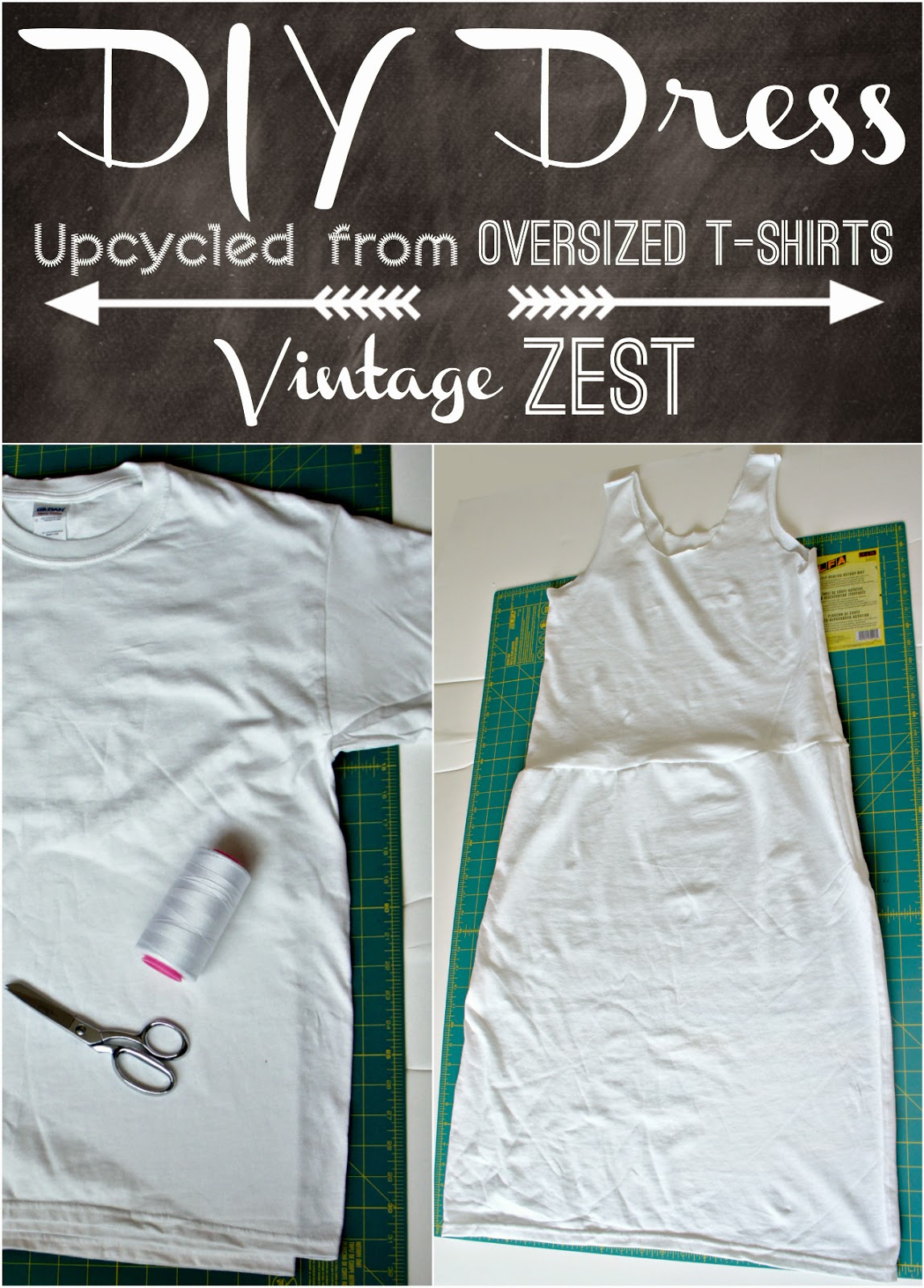 Sewing Upcycled Clothing Easy Diy How To Diy A Dress Upcycled From Oversized T Shirts Dianes