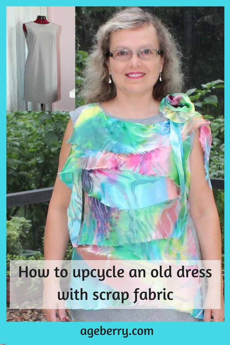 Sewing Upcycled Clothing Easy Diy How To Upcycle An Old Dress Upcycling Pinterest Upcycling