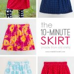 Sewing Upcycled Clothing Easy Diy The 10 Minute Skirt Re Purposing Old Shirts Into Skirts Make It