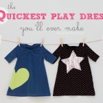 Sewing Upcycled Clothing Easy Diy The Quickest Toddler Play Dressyoull Ever Make Make It And Love It