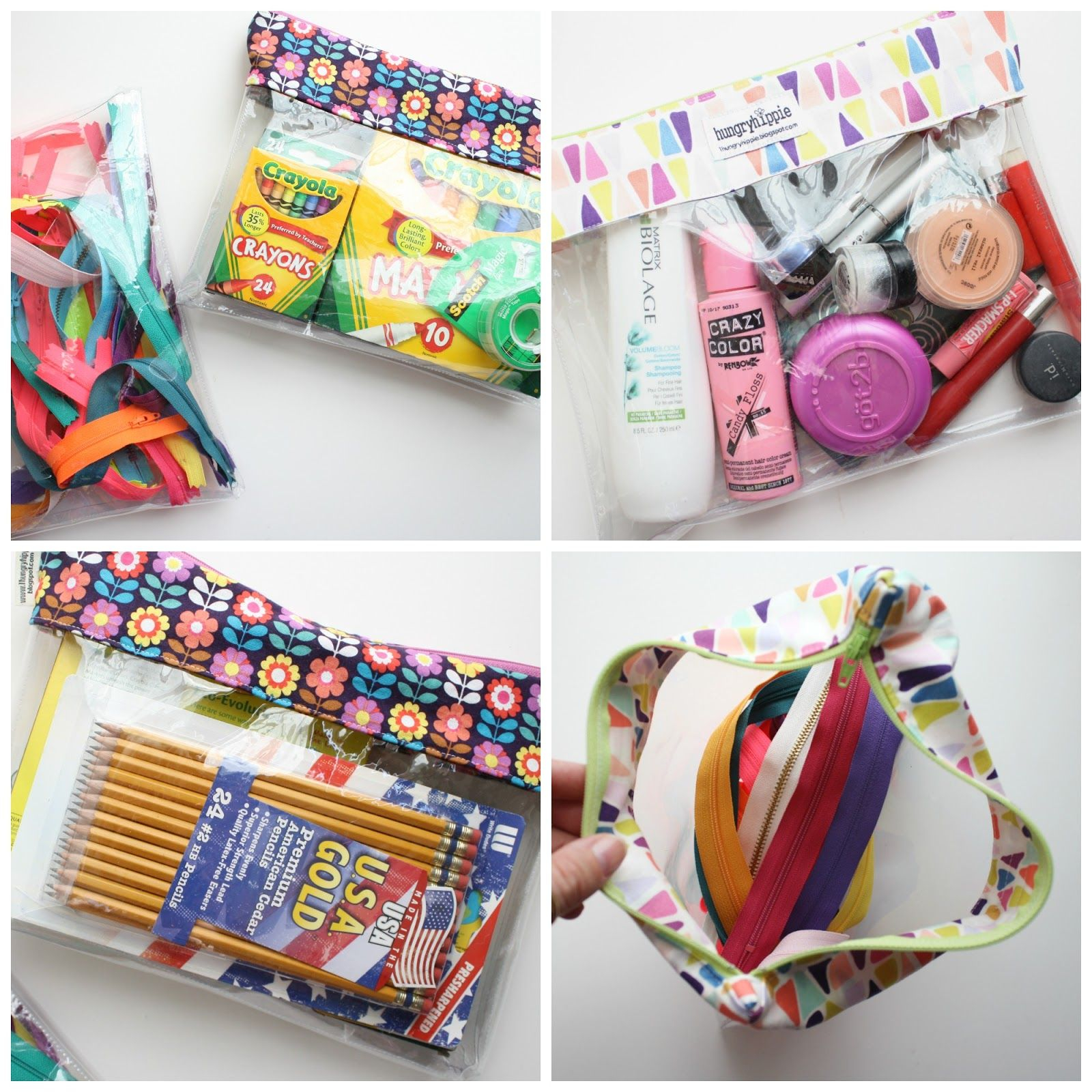 Sewing Vinyl Bags Zipper Pouch How To Sew A Clear Vinyl Bag Sew Fun Zipper Bags Pouches