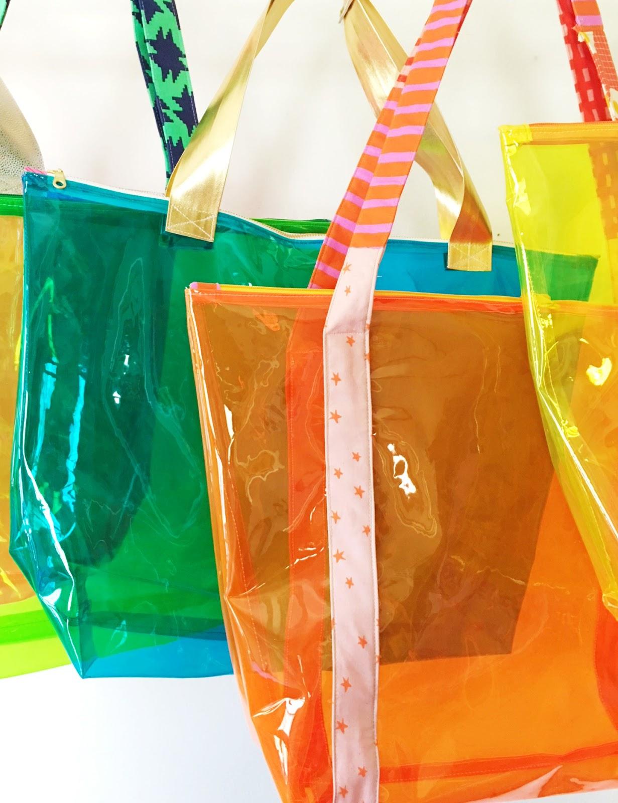 Sewing Vinyl Bags Zipper Pouch Sewhungryhippie Fast Vinyl Santorini Tote Sewing Tutorial