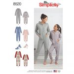 Simplicity Sewing Patterns Giris And Misses Jumpsuits And Booties Simplicity Sewing Pattern