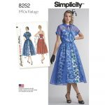 Simplicity Sewing Patterns Simplicity Sewing Pattern 8252 Closs Hamblin