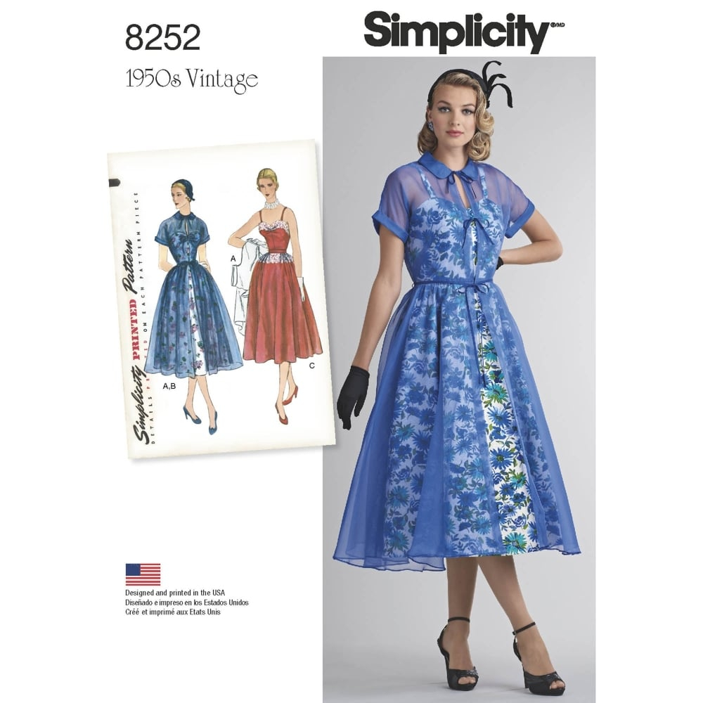 Simplicity Sewing Patterns Simplicity Sewing Pattern 8252 Closs Hamblin