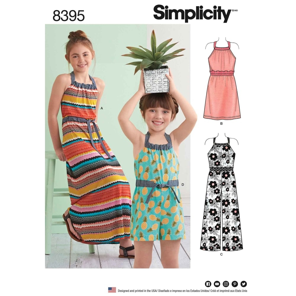 Simplicity Sewing Patterns Simplicity Sewing Pattern 8395 Closs Hamblin