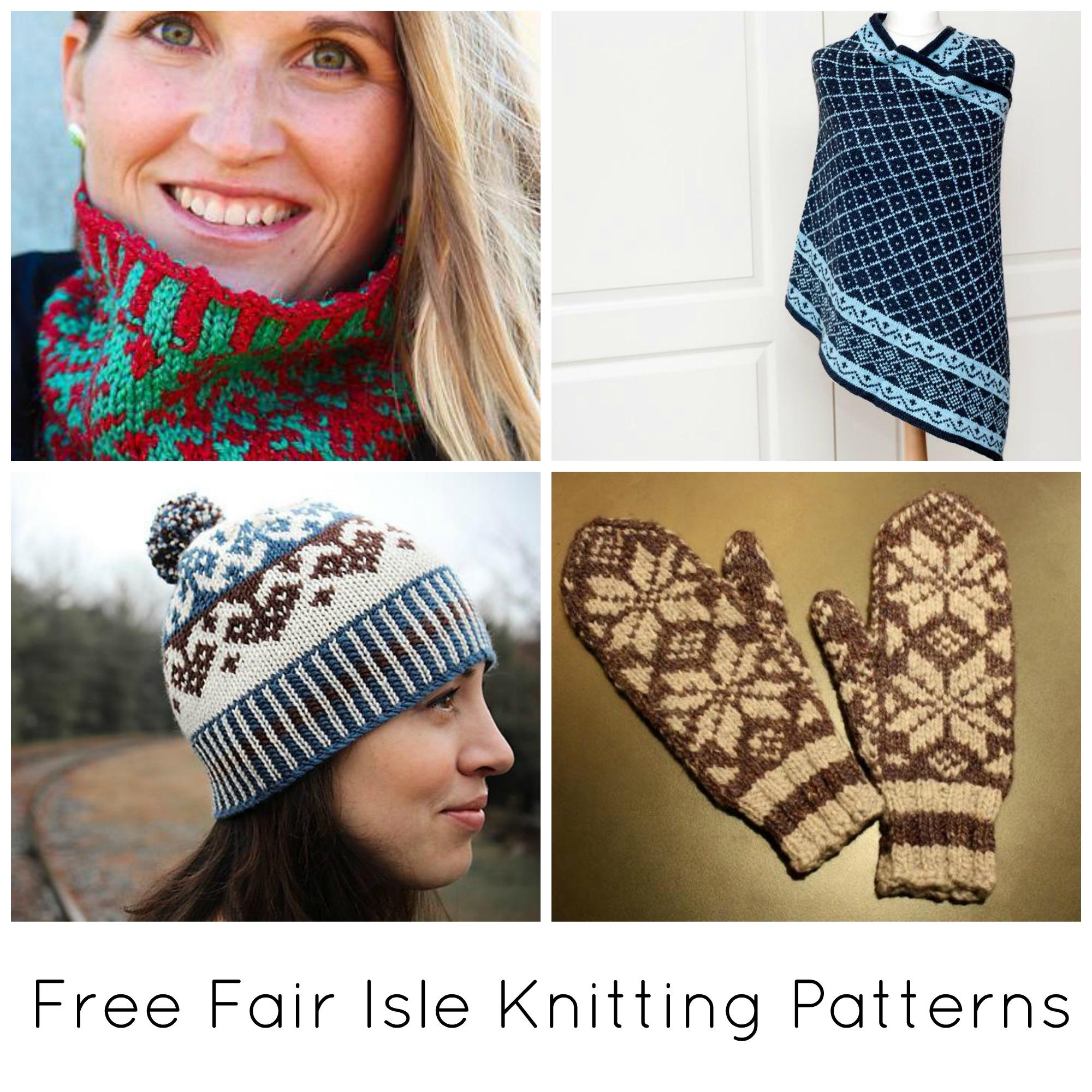 Stranded Knitting Patterns Free 10 Free Fair Isle Knitting Patterns On Craftsy
