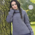 Sweater Knitting Patterns Ladies Super Chunky Knitting Pattern King Cole Easy Knit Sweater
