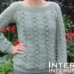 Sweater Knitting Patterns Long Sleeve Lace Sweater Knitting Pattern Youtube