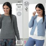 Sweater Knitting Patterns Raglan Sleeve Sweater Jumper Cardigan Ladies Knitting Pattern King