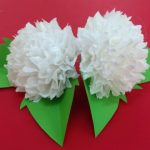 Toilet Paper Origami Easy How To Make Tissue Paper Flowers Making Tissue Paper Flowers
