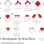 Toilet Paper Origami Easy Luxury Bookmark Instructions On Toilet Paper Folding Easy Origami