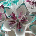 Toilet Paper Origami Easy Origami Diy Folded Paper Flowers Kusudama Origami Theeasydiy