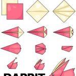 Toilet Paper Origami Easy Origami Rabbit Toilet Paper Origami Origamianimals Origamiart