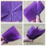 Toilet Paper Origami Easy Tissue Paper Flowers The Imagination Tree