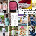 Trendy Sewing Patterns Free Sewing Patterns For Kids Fallwinter 2017 Life Sew Savory