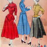 Trendy Sewing Patterns Pintucks 1950 Fashion Sewing Patterns For Dresses